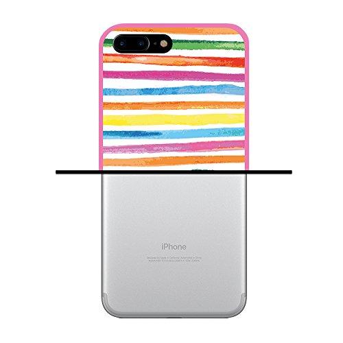 iPhone 7 Plus Hülle, WoowCase Handyhülle Silikon für [ iPhone 7 Plus ] Roma Itallien Symbole Handytasche Handy Cover Case Schutzhülle Flexible TPU - Schwarz Housse Gel iPhone 7 Plus Rosa D0288