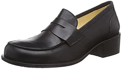 John W. Shoes  Kaci, Chaussons, doublure froide femmes - Noir - Noir, 42 EU
