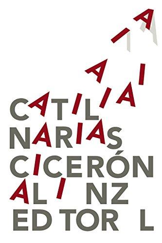 Catilinarias (El Libro De Bolsillo - Clásicos De Grecia Y Roma) por Cicerón