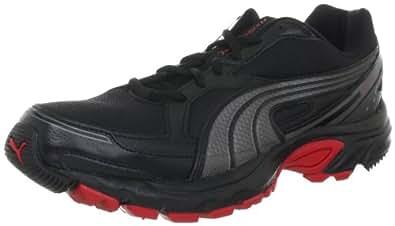 Puma Axis 2 TR 186300, Herren Sportschuhe - Running, Schwarz (black-aged silver-ribbon red 1), EU 40 (UK 6.5) (US 7.5)