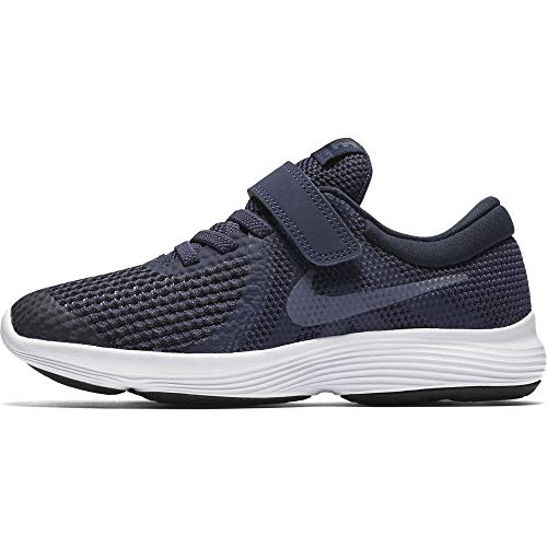 NIKE Kinder Revolution 4 (PSV) Laufschuhe, Blau (Neutral Indigo/Light Carbon-Obsidian 501), 32 EU