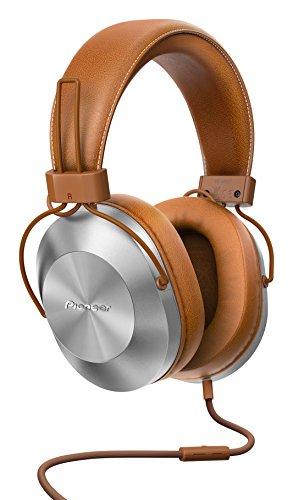 Pioneer SE-MS5T(T) Over-Ear Kopfhörer (High-Res Audio Wiedergabe, Freisprechfunktion, hoher Tragekomfort, hohe Klangqualität, für Smartphone, Tablet, Hifi Anlage, Aluminium Design), Braun
