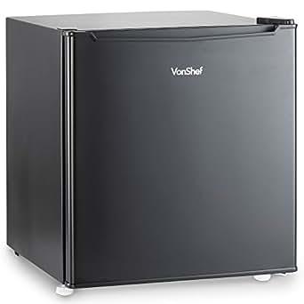 Vonshef 47l Mini Fridge With Ice Compartment Compact