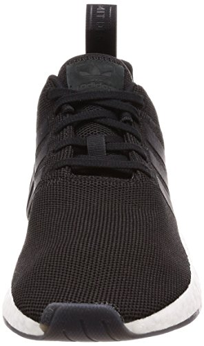 adidas NMD_r2, Chaussures de Gymnastique Homme Noir (Core Black/core Black/core Black)