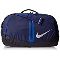 Nike Unisex Run Speed Duffel Bag, Blue/Silver