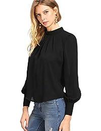 Suchergebnis auf Amazon.de für  Stehkragen Bluse - Damen  Bekleidung 5f00417ef1