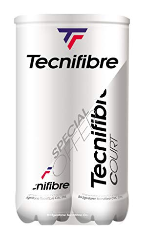 Tecnifibre Court Tennis Bälle Pack - Tennisbälle Tecnifibre