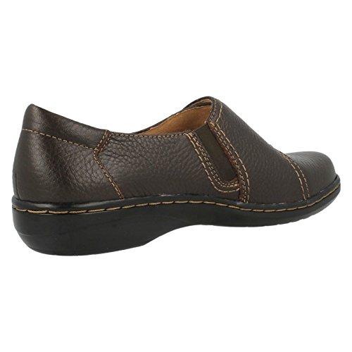 Chaussures Marrone Brun De Collegamento Evianna Boa Donne Tumb En Caduto Clarks Cuir fHwOz57q