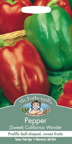 Pepper (Sweet) California Wonder Organic