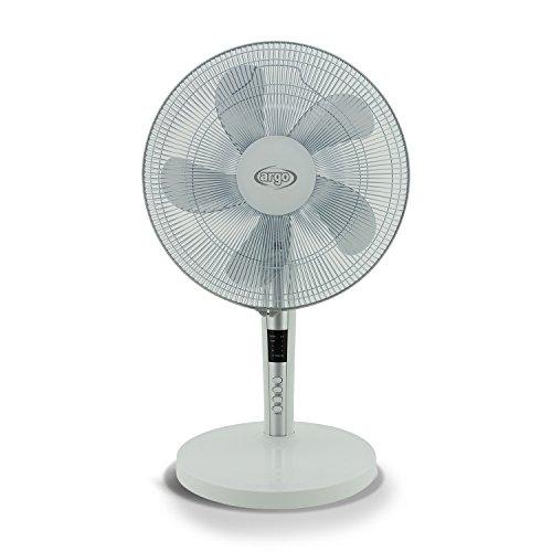 Argo TABLOWH Ventilateur de table 40 cm avec télécommande Blanc
