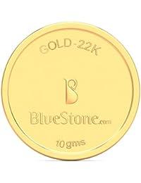 BlueStone BIS Hallmarked 10 grams 22k (916) Yellow Gold Precious Coin
