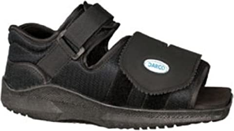 Darco Med-Surge Shoe Square Toe, Mens Large by Darco