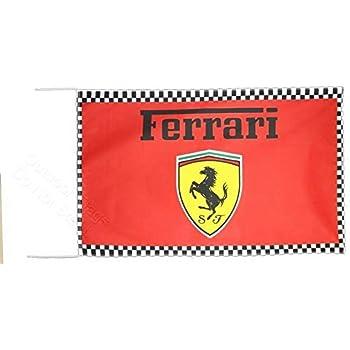 Cyn Flags Ferrari Schumacher Signed Bandiera 2.5x5 ft 150 x 90 cm