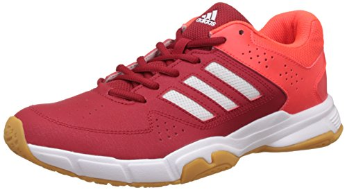 adidas Men's Quickforce 3.1 Powred, Ftwwht and Solred Badminton Shoes - 8 UK/India (42 EU)