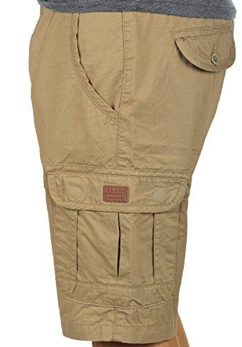 BLEND Crixus Herren Cargo-Shorts kurze Hose mit Taschen aus 100% Baumwolle Sand Brown (75107)