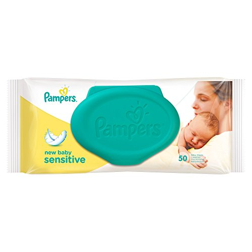 Pampers New Baby Sensitive Wipes – 50 x Pack of 12 41mqtGlWicL