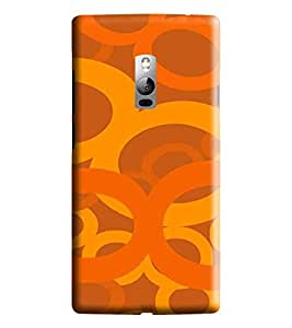Hi-me Designer Phone Back Case Cover OnePlus 2 :: OnePlus Two :: One Plus 2 ( Vibrant Rich Lucky Colorful Eights )