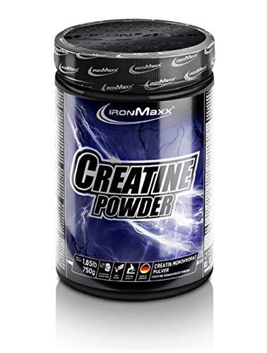IronMaxx Creatine Monohydrat-Pulver, 750g Dose