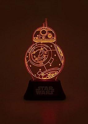 Officiel Star Wars BB-8 bord acrylique lampe - accessoires de chambre