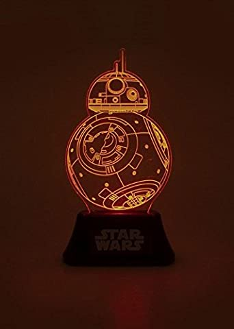 Bb8 Star Wars - Officiel Star Wars BB-8 bord acrylique lampe