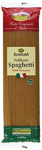 Alnatura Bio Nudeln Vollkorn Spaghetti, 500 g