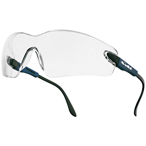 Bolle Viper II Brille - klar Lens Electric Blue Rahmen