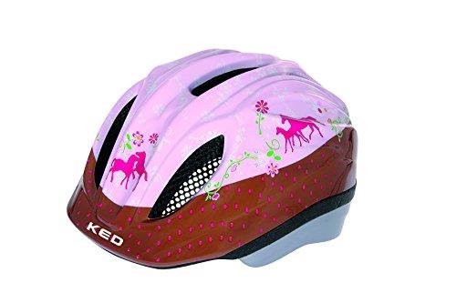 KED Kinder Fahrradhelm Meggy Pferdefreunde (Größe: M)
