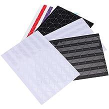 SODIAL (R) 5 hojas de adhesivos para fotos esquina Pegatinas Scrapbooking album