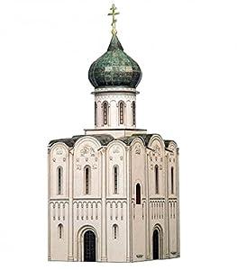 CLEVER PAPER- Puzzles 3D Iglesia de la intersección de Nerl, Rusia (14315)