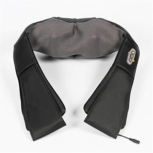 BBAQLY Massagegerät Nacken Schulter Rücken Shiatsu Nackenmassagegerät mit Wärmefunktion 3D-Rotation Elektrisch Massage