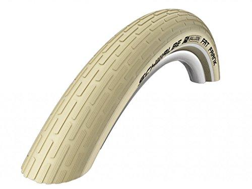 Schwalbe Fahrrad Reifen Fat Frank SBC//alle Größen + Farben, Dimension:60-559 (26×2,35´´), Ausführung:crème Reflex. Drahtreifen (Reifen Neues Cruiser Fahrrad)