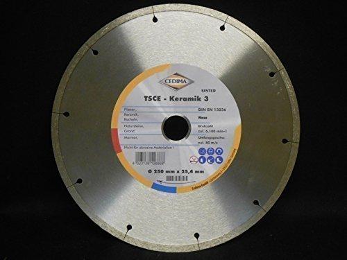 diamanttrennscheibe-250x20x7x254-tsce-keramik-3-sinter-fur-fliesenkachelnnatursteinegranitmarmor