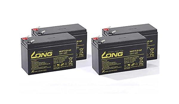 USV Akkusatz kompatibel Back-UPS RS BR1500I RBC33 RBC 33 Batterie Ersatz VDS