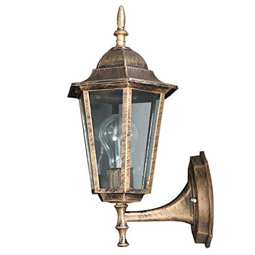 CKH European-American Outdoor Wandleuchte Creative Villa Außenleuchten Garten Wasserdichte Säule Lampe Antiken Wandleuchte