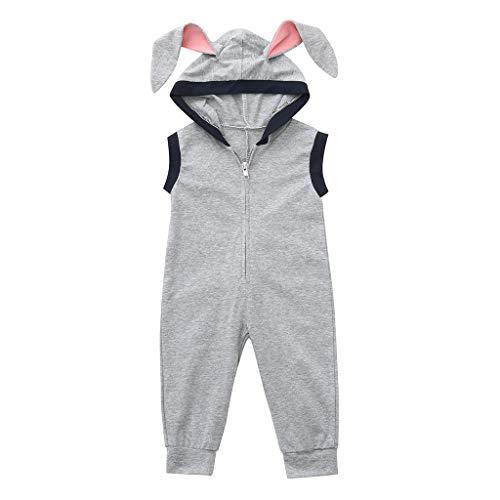 Kinderbekleidung-ärmellose-Osterhase-Langes-Ohr-Schwanz,Kinder-Mädchen-Junge-Häschen-Spielanzug-Overall,Strampler-Bodysuit-Stirnband,Mode-Schön-Freizeit-Warm-Stilvoll,Süße-Frisch-Und-Elegant
