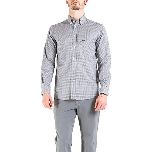 Carrera Jeans - Hemd 213B1220A für mann, Flanell Gewebe, regular fit, langarm Grigio 857