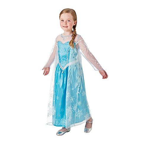 Rubie's 3630034 - Elsa Frozen Deluxe, Action Dress Ups und Zubehör, M