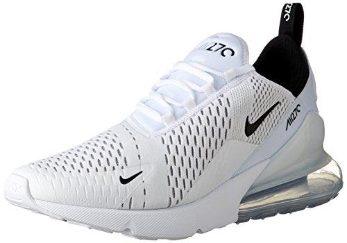 detailing be17b 9997b Nike Air MAX 270, Zapatillas de Entrenamiento para Hombre, Black White 100,