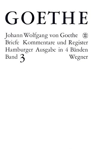 Descargar Libros Formato Goethes Briefe und Briefe an Goethe Bd. 3: Briefe der Jahre 1805-1821 De PDF A Epub