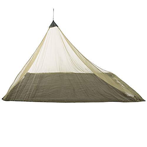 Rosepoem Zelt Moskitonetz Pyramidenzelt Moskitonetz Survival Kit 2 Farben Robuste hängende Campingzelte