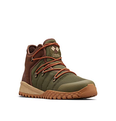Columbia Fairbanks 503 Mid-Cut, Zapatos para Hombre, Verde Nori, Dark Adob, 40 EU