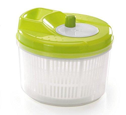 Tosend centrifuga per insalata piccola salvaspazio (litri 4) misure cm 20x20x16h - colori sfusi random