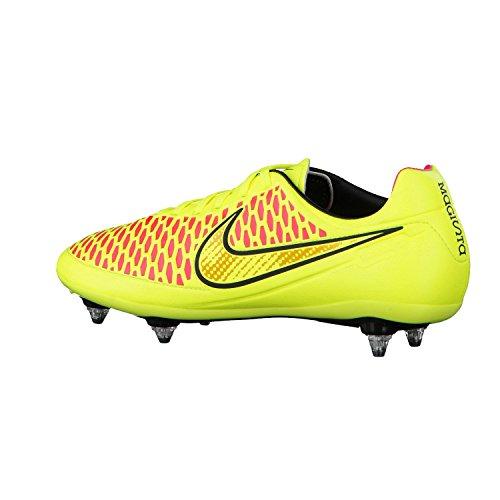 Nike , Chaussures de foot pour homme Noir Noir jaune