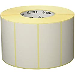 Zebra Z-Perform 1000T - Etiquetas de impresora (Color blanco, Transferencia térmica, Papel, 101.6 x 50.8, 4 pieza(s))