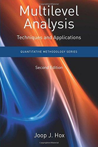 Preisvergleich Produktbild Multilevel Analysis: Techniques and Applications,  Second Edition (Quantitative Methodology Series)
