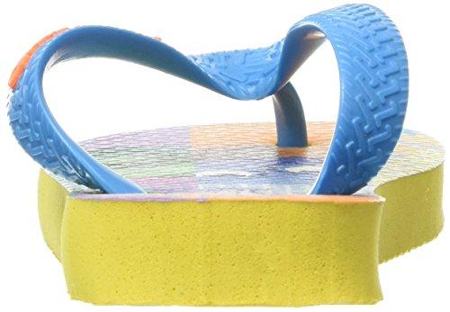 Havaianas Divertidamente, Sandales Plateforme mixte enfant Citrus Yellow Achat Vente Grande Vente Dégagement Vente Rabais Réduction