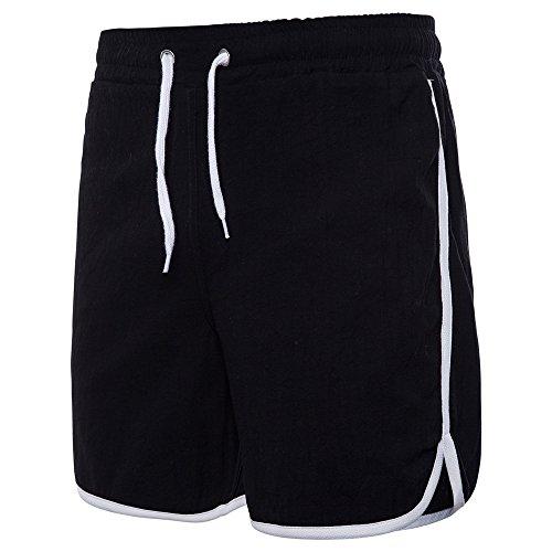 YiYLunneo Sport Herren Shorts Sommer Fitness Laufen Freizeithosen Sweatshorts Bermuda Shorts Trainingsshorts kurz Hose Jogging Shorts -