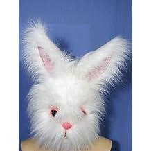 Máscara Suprema conejo con piel sintética