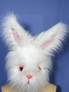 Suprême masque de lapin avec fourrure synthétique