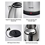 Baltra BC-130 1.5-Litre Electric Kettle (Silver)